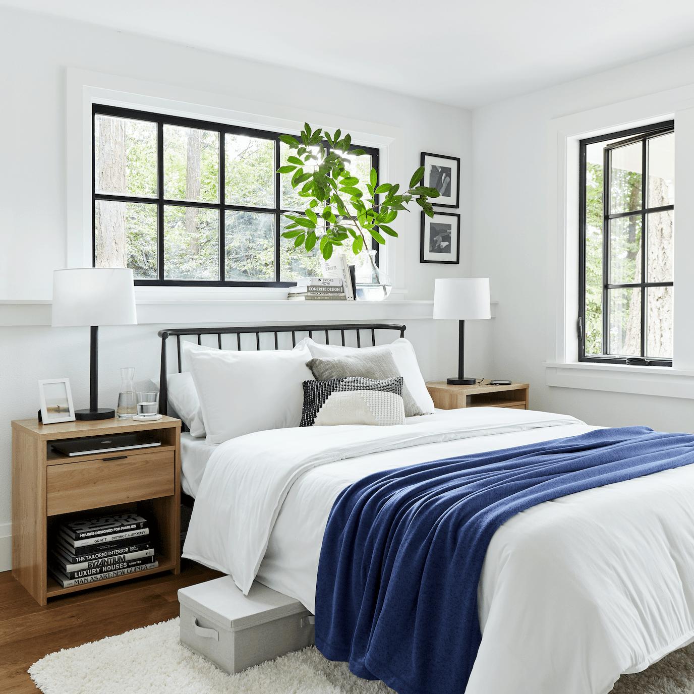 Ideas de almacenamiento de dormitorio pequeño