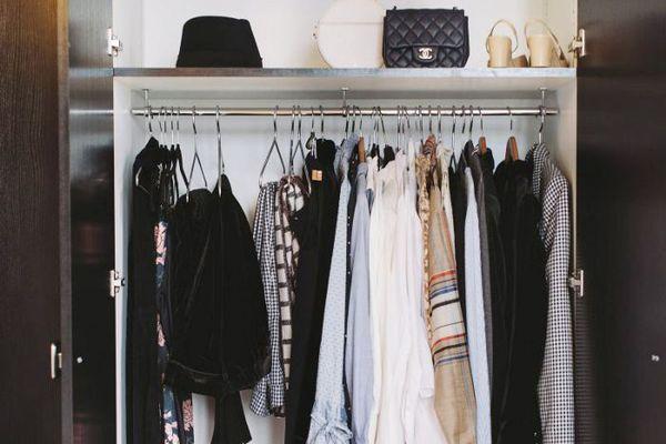 Look inside a closet