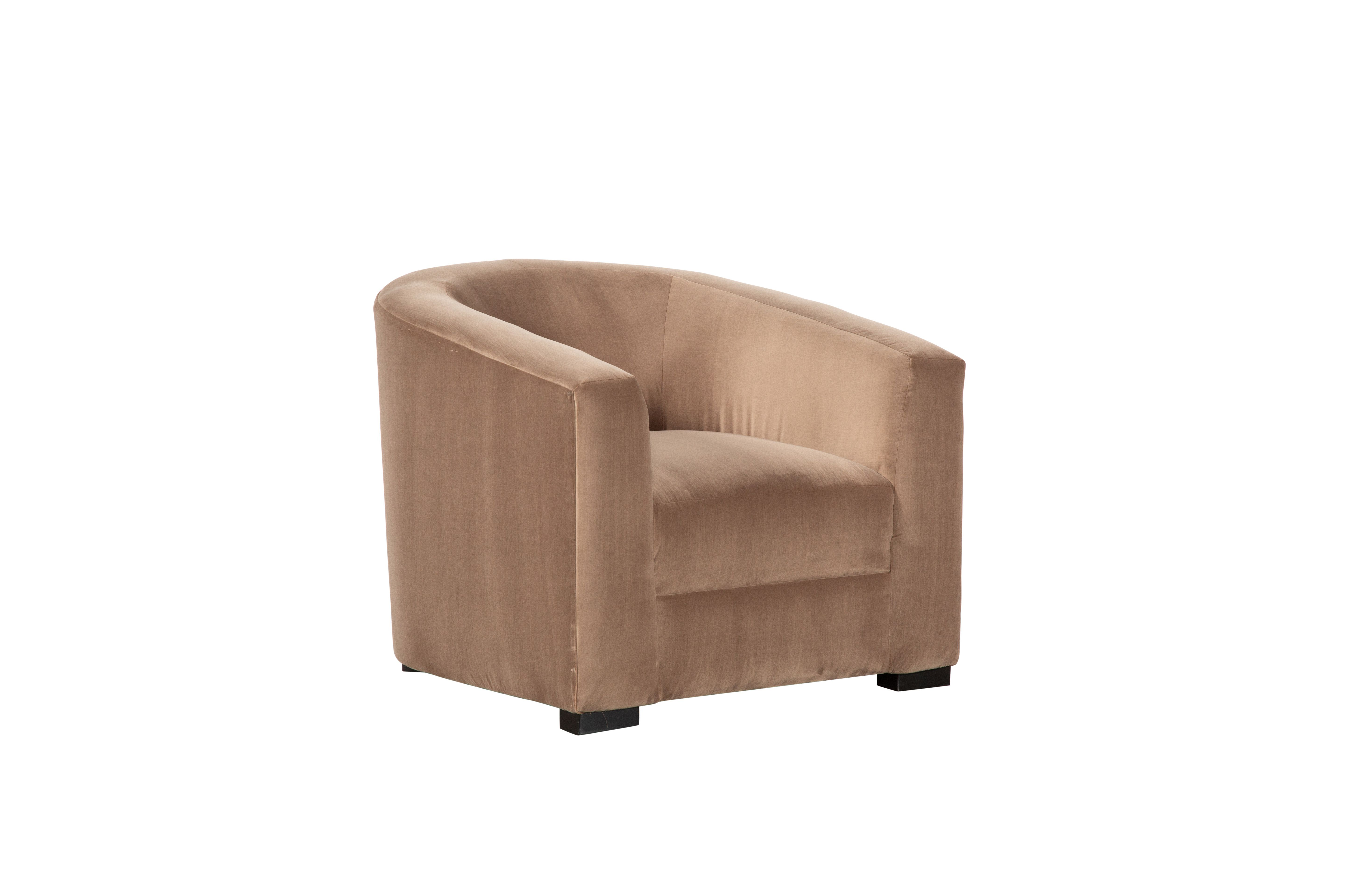 Emile Coffee Lounge Accent Chair