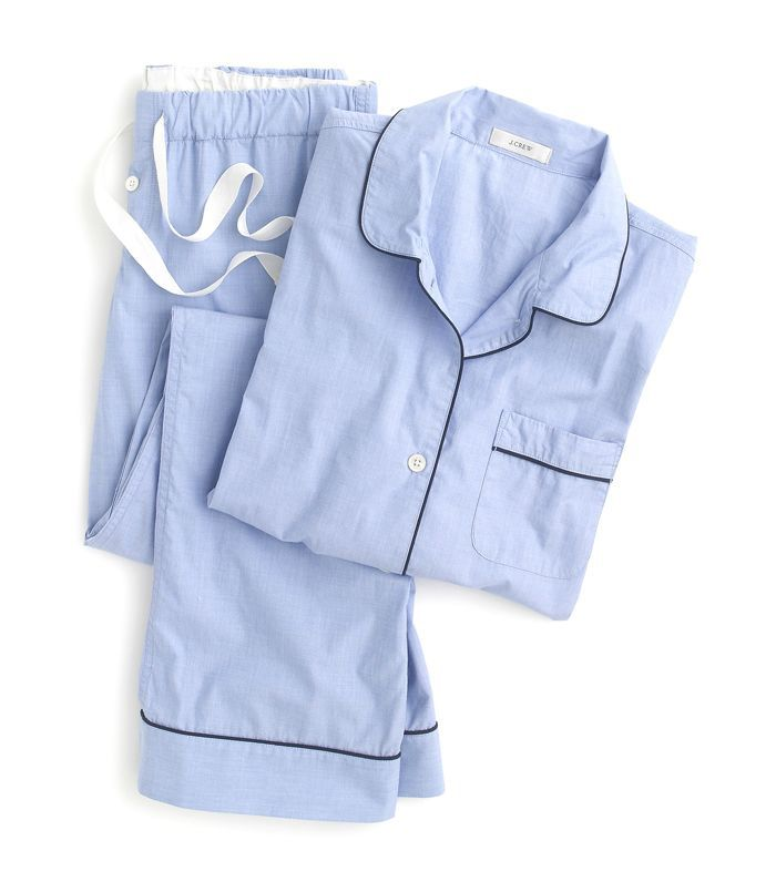 J.Crew Vintage Pajama Set in Blue