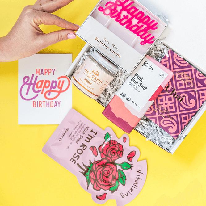 Build A Gift Box - Happy Box
