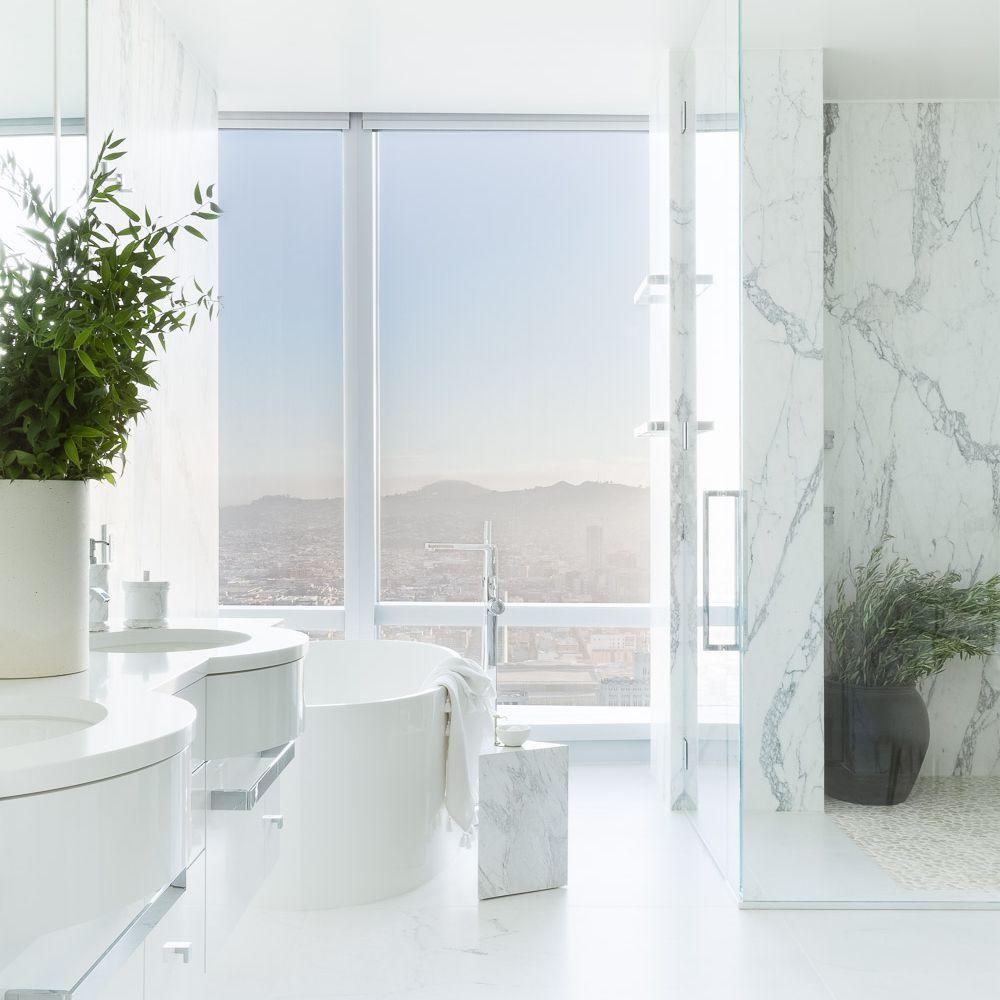 master marble bathroom