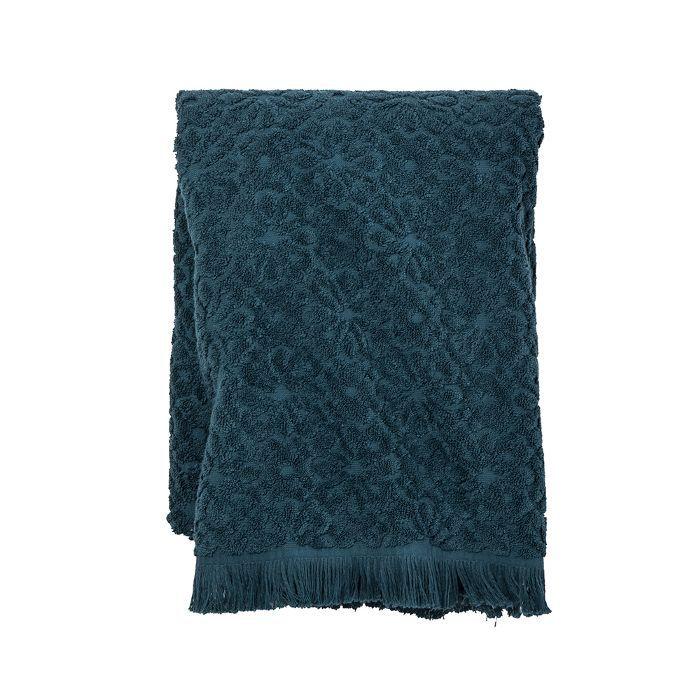 Target Perfectly Soft Embossed Bath Towel Teal