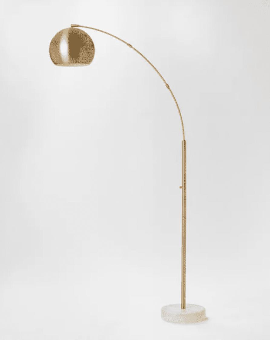 Project 62 Span Single Head Metal Globe Floor Lamp