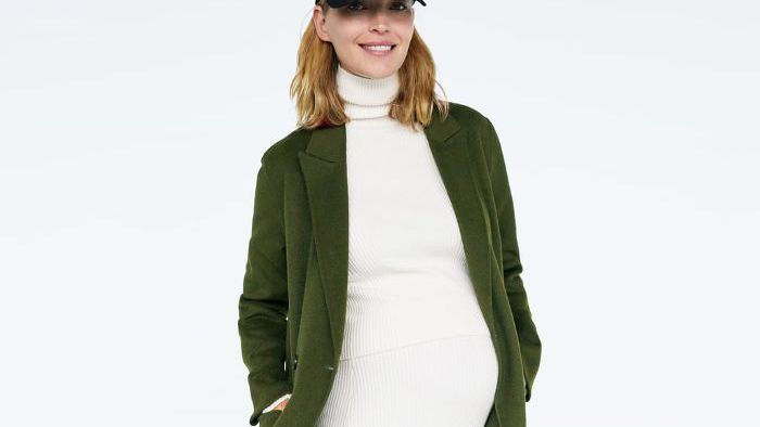 ce6bed7e2fc Zara Just Launched a Maternity Line and It s Insanely Chic