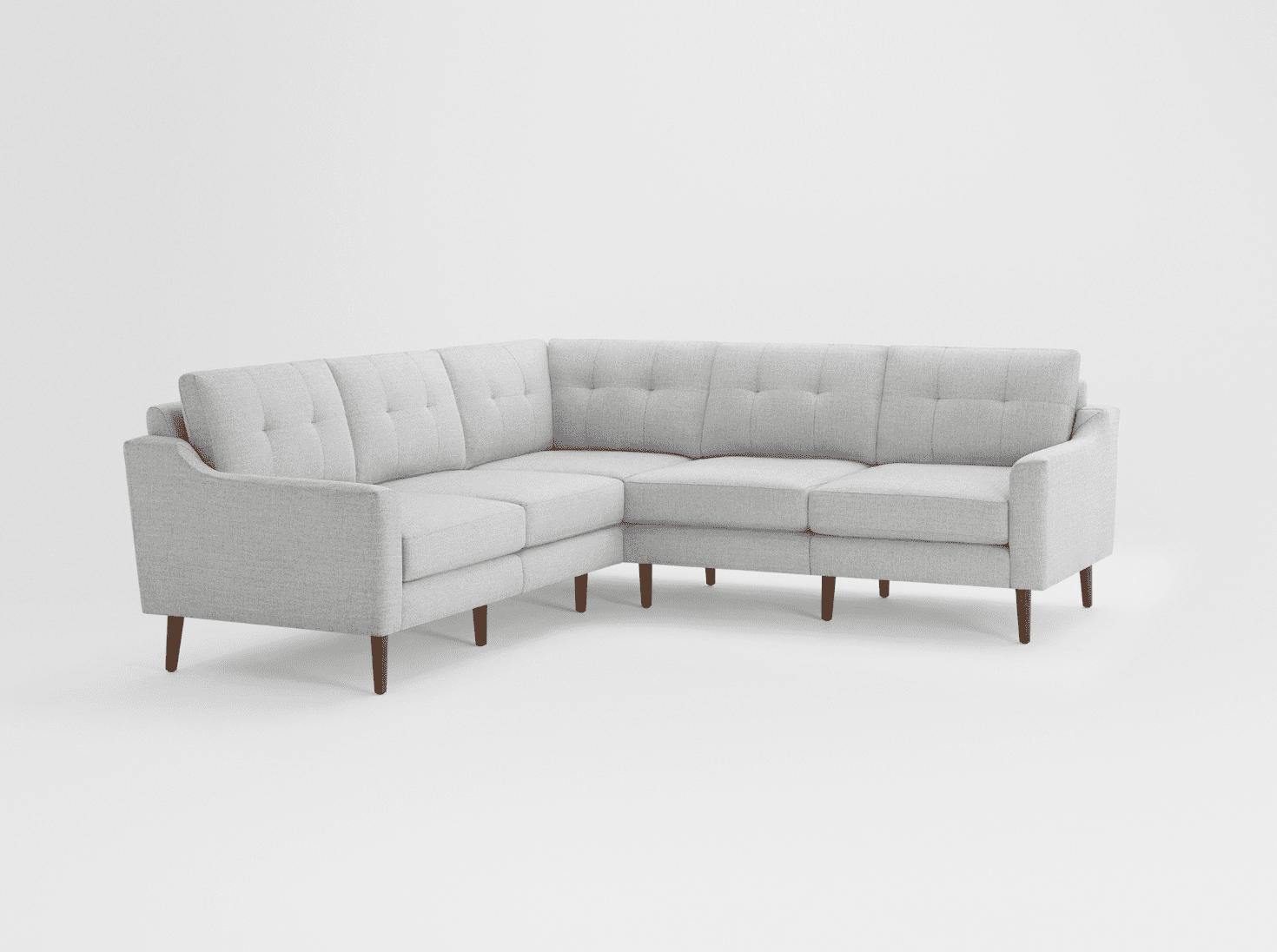 Sofá seccional en forma de L