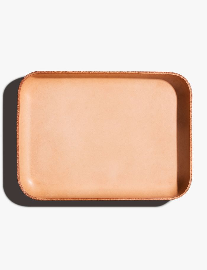 Shinola Small Natural Leather Tray