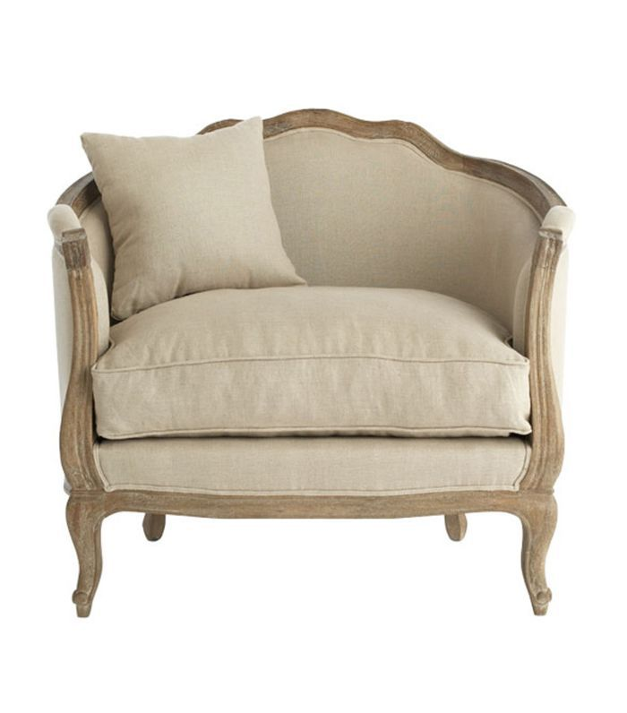 Wisteria Linen European Chair