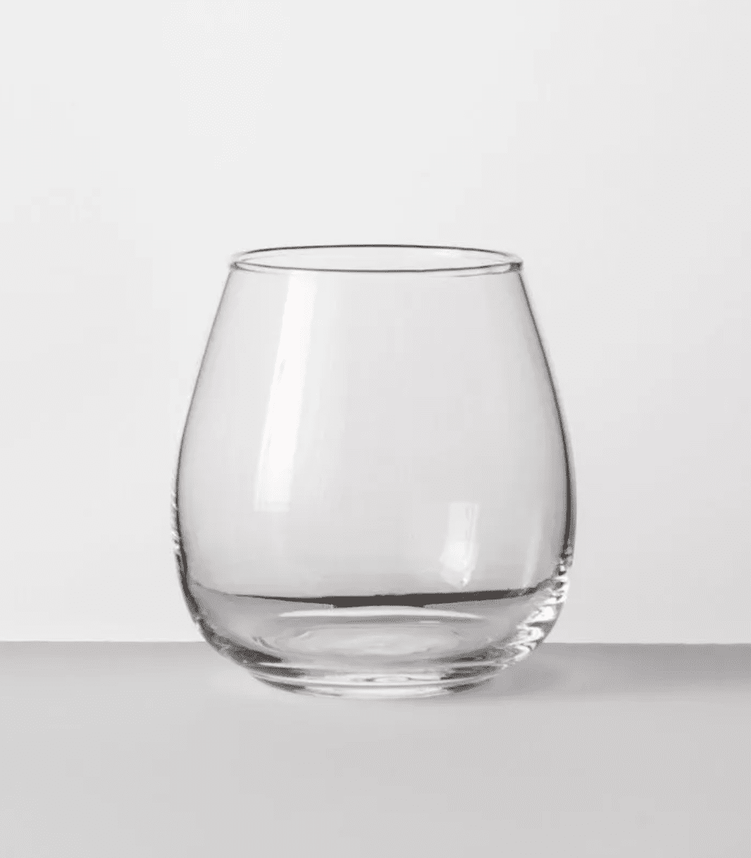 Made by Design Stackable Stemless Wine Glass