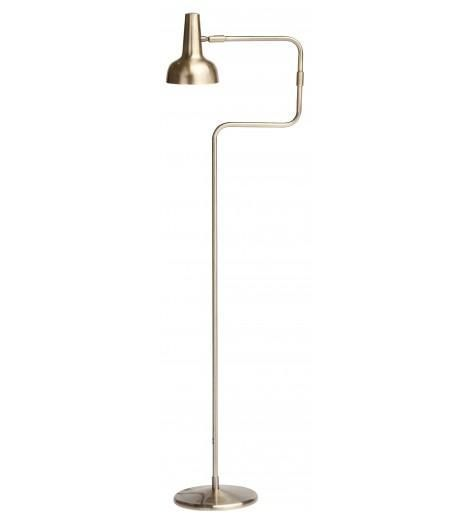Kourt Floor Lamp, Brass