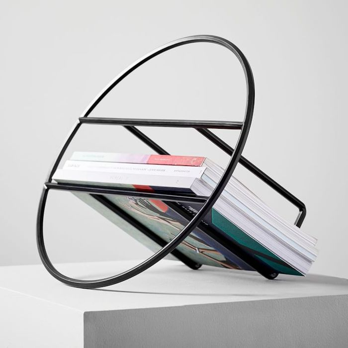 West Elm Ease Roundabout Magazine Rack