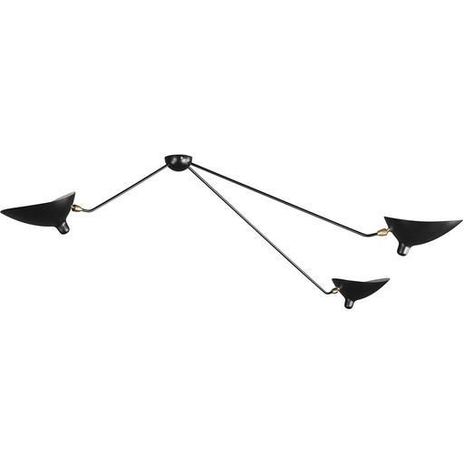 France & Son 3 Arm MCL-SP3 Spider Ceiling Lamp
