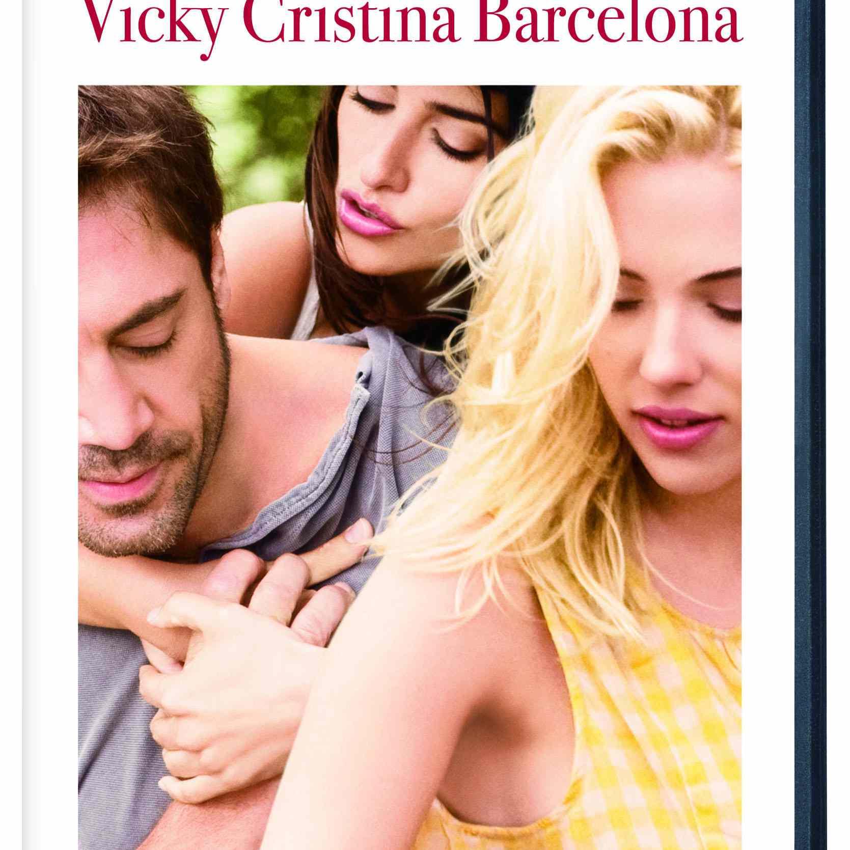 Carátula del DVD de la película de 2008 Vicky Cristina Barcelona