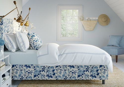 chintz bed