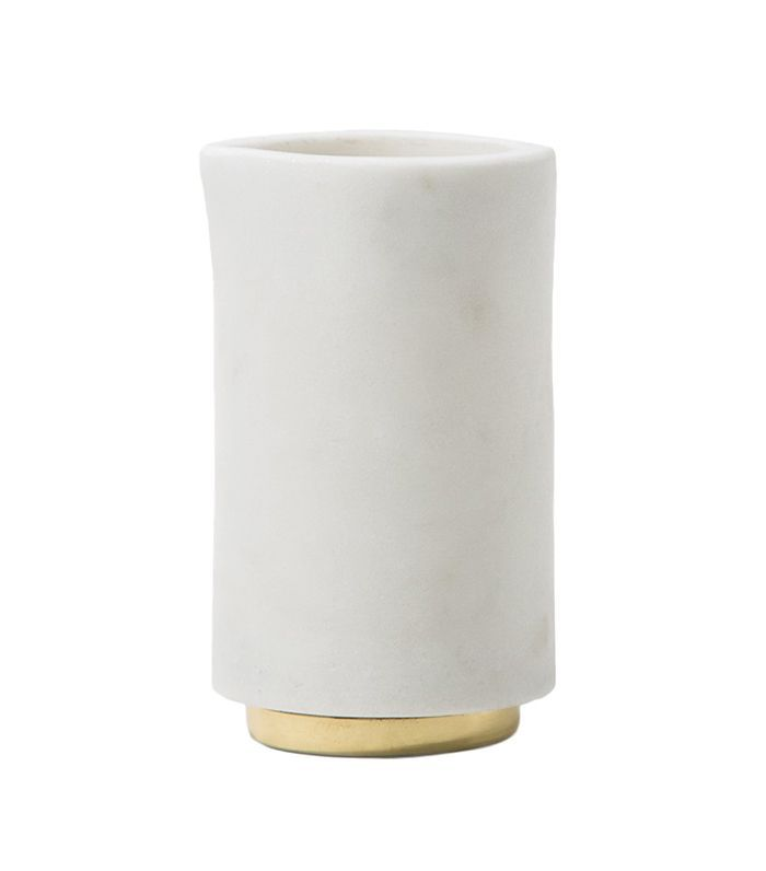 Mara Marble+Brass Creamer