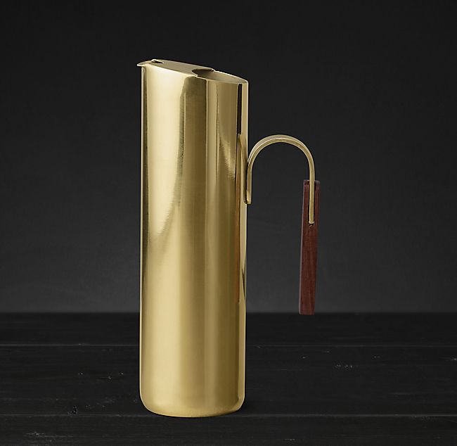 1960s Italian Brass Cocktail Pitcher