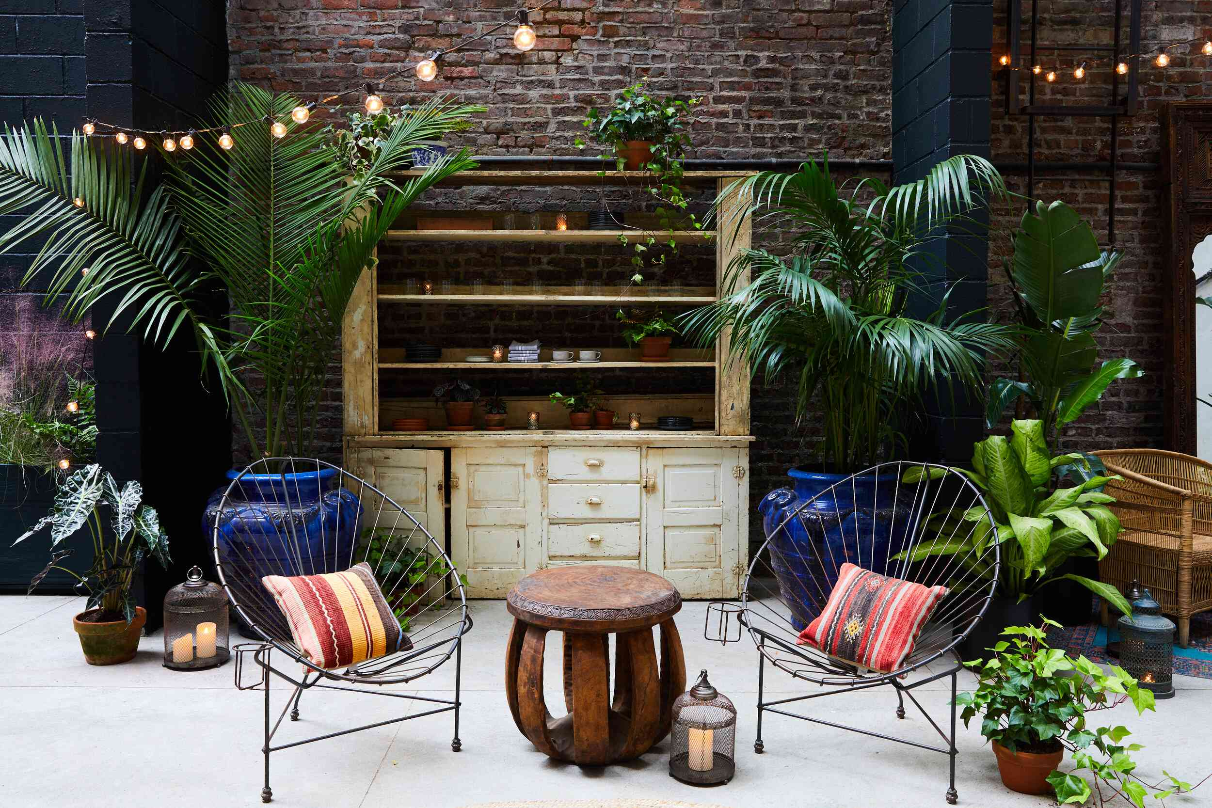 Bespoke Only outdoor space.