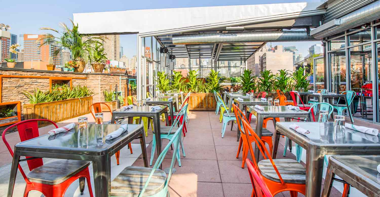 15 Rooftop Restaurants In New York City With A Killer View,Parmesan Crusted Chicken Pasta Recipe