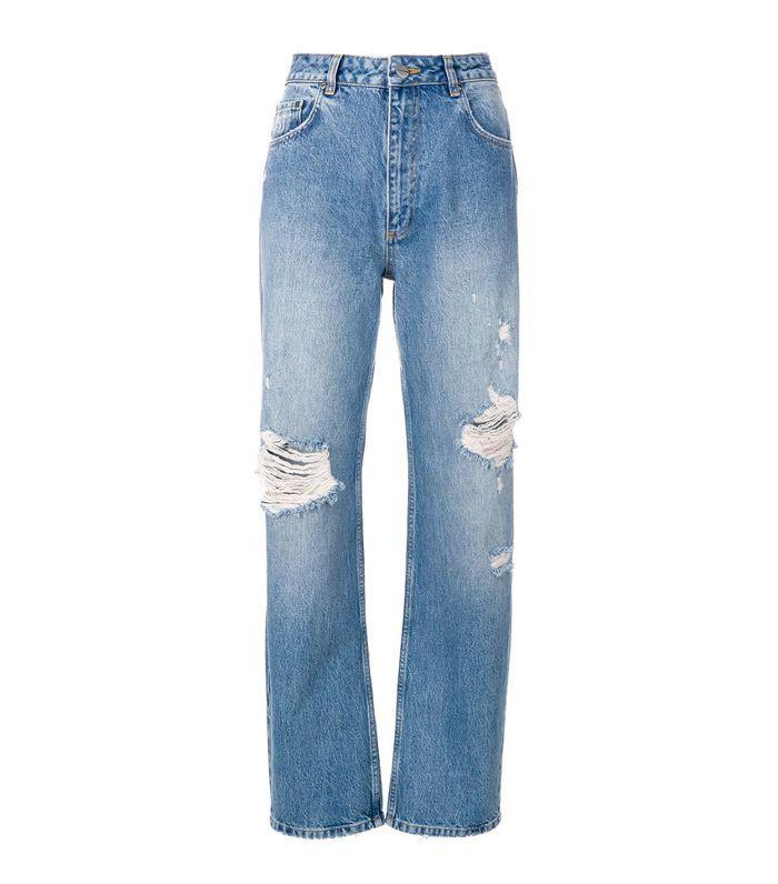 Leigh ripped boyfriend jeans