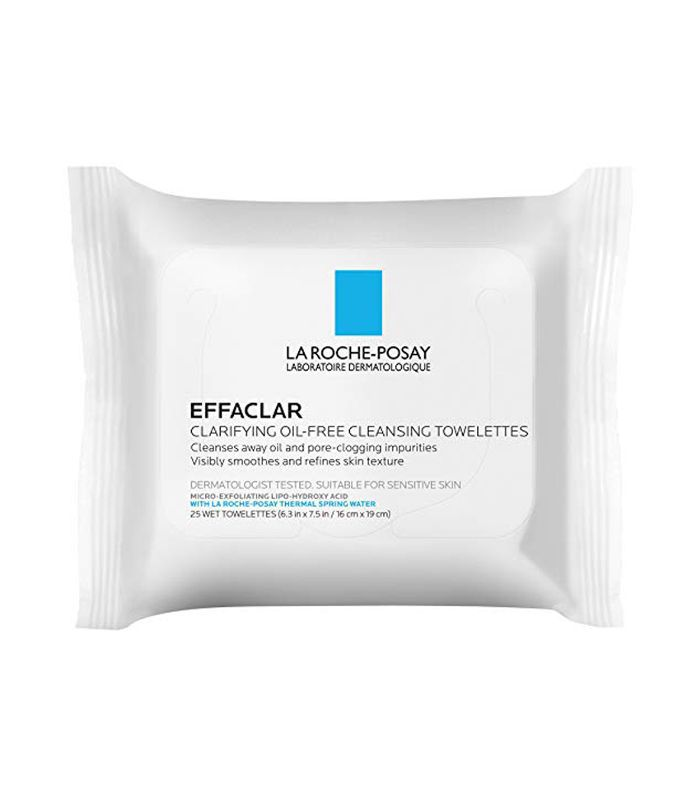 Effaclar Clarifying Oil-Free Cleansing Towelettes Facial Wipes