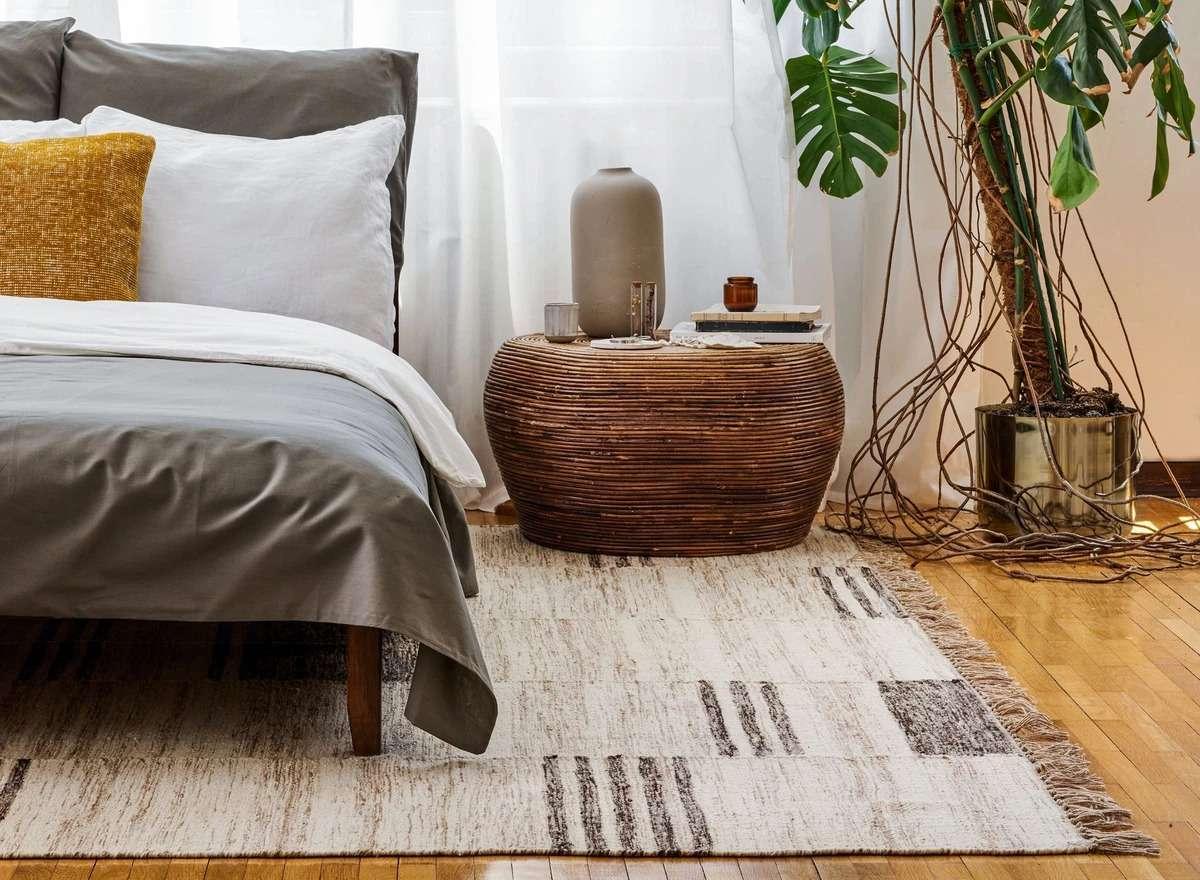 Revival Rugs Ledger Flatweave Wool Rug