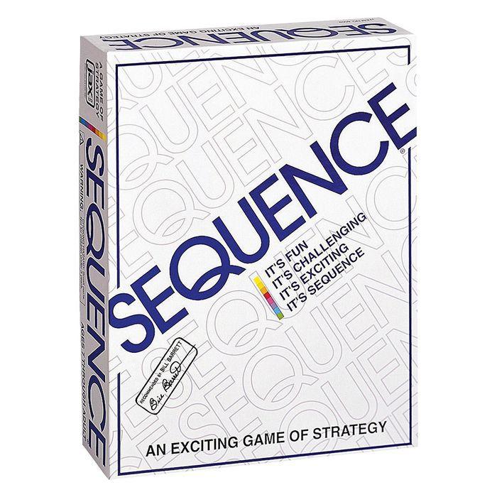El juego de mesa de estrategia llamado Sequence.