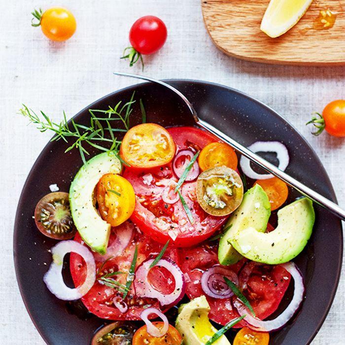 a tomato salad