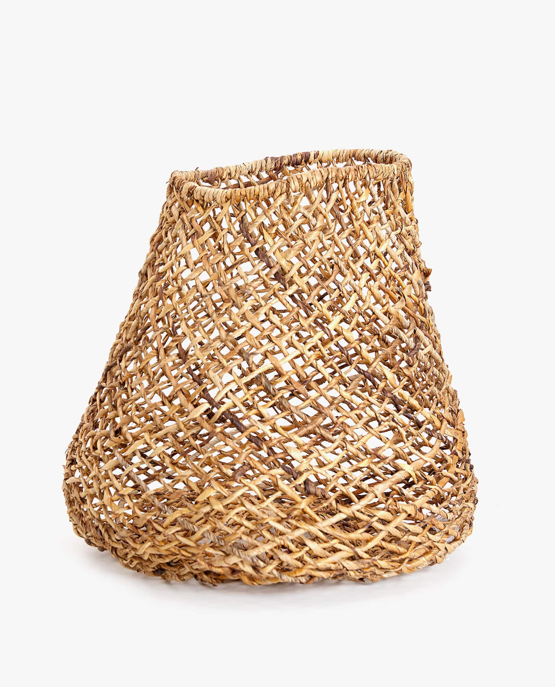 Zara Home Round Woven Basket