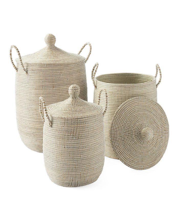 Solid La Jolla Baskets