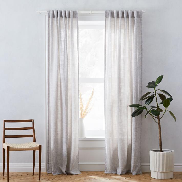 West Elm Crossweave Curtain