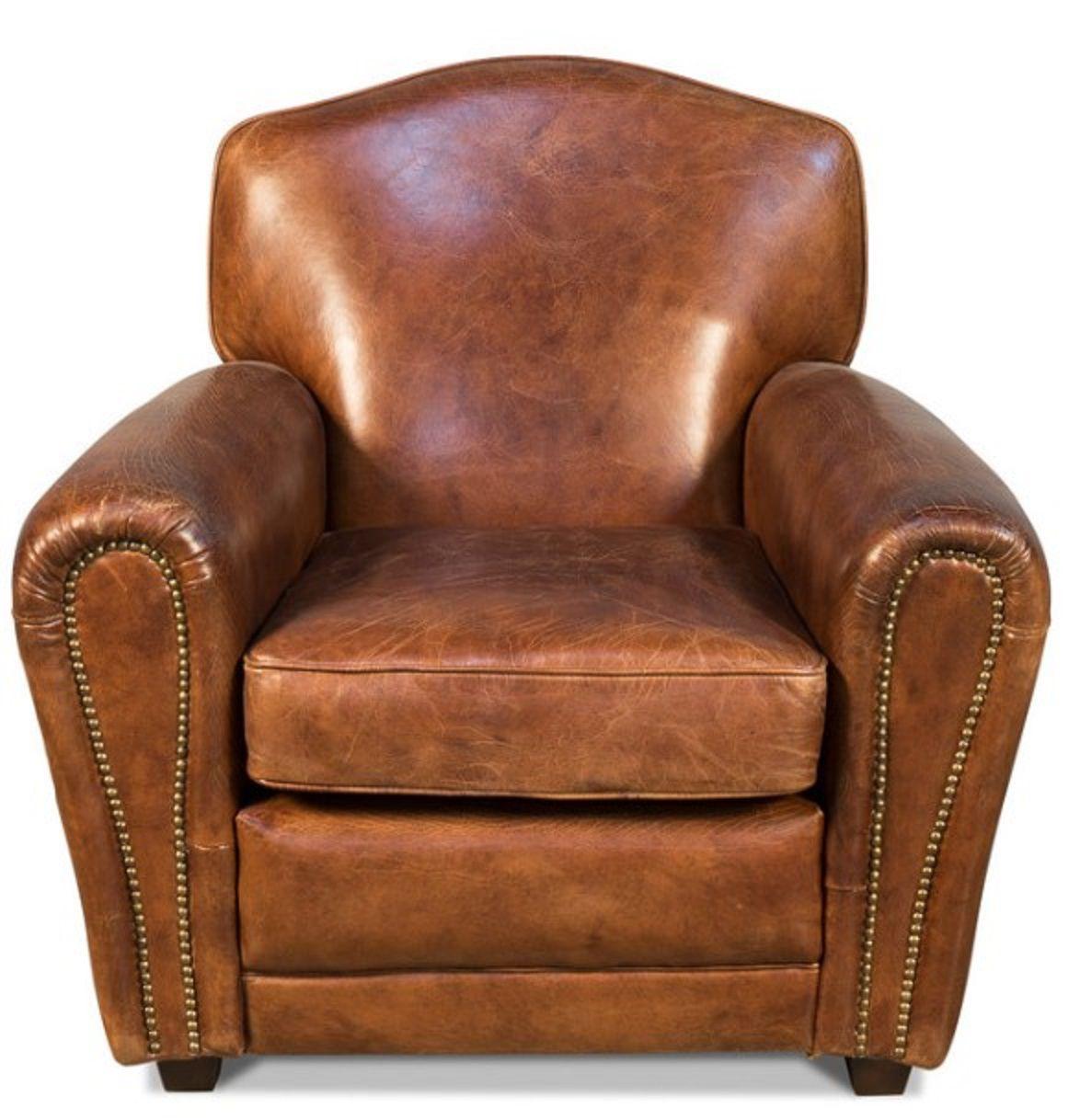 Sarreid Ltd. Vintage Elite French Club Chair