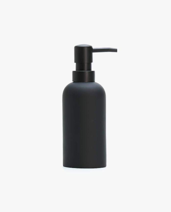 Zara Home Black Resin Soap Dispenser