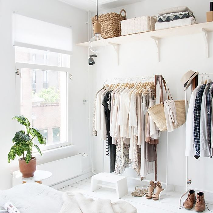 The IKEA Clothing Rack Ideas Every Stylish Girl Knows