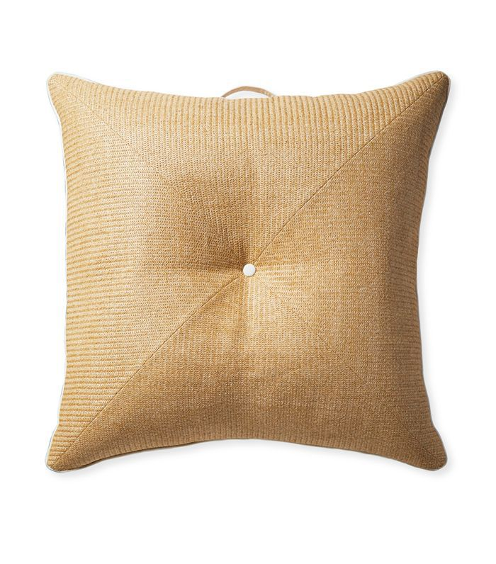 Harbour Island Floor Pillow - Raffia