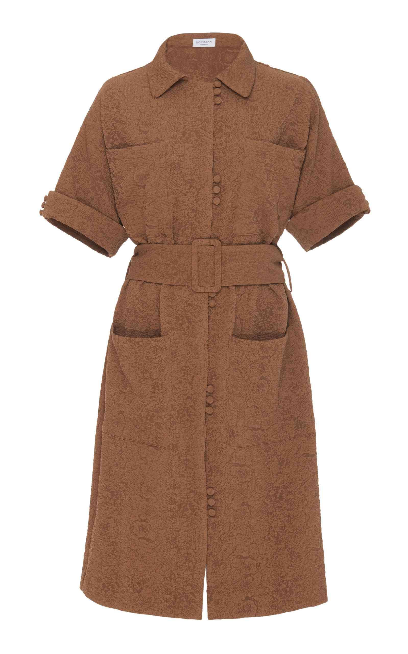 HOFMANN COPENHAGEN Anni Button Up Dress
