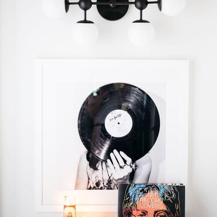 Trish y Billy Ray Cyrus: arte decorativo