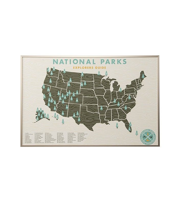 Schoolhouse Electric National Parks Print
