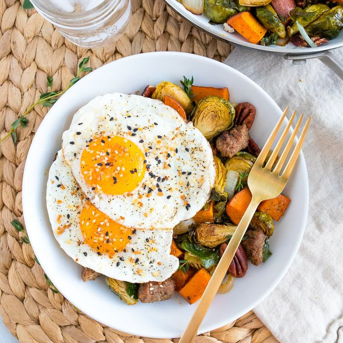 Best Paleo Recipes - Eating Bird Food, Sweet Potato Hash