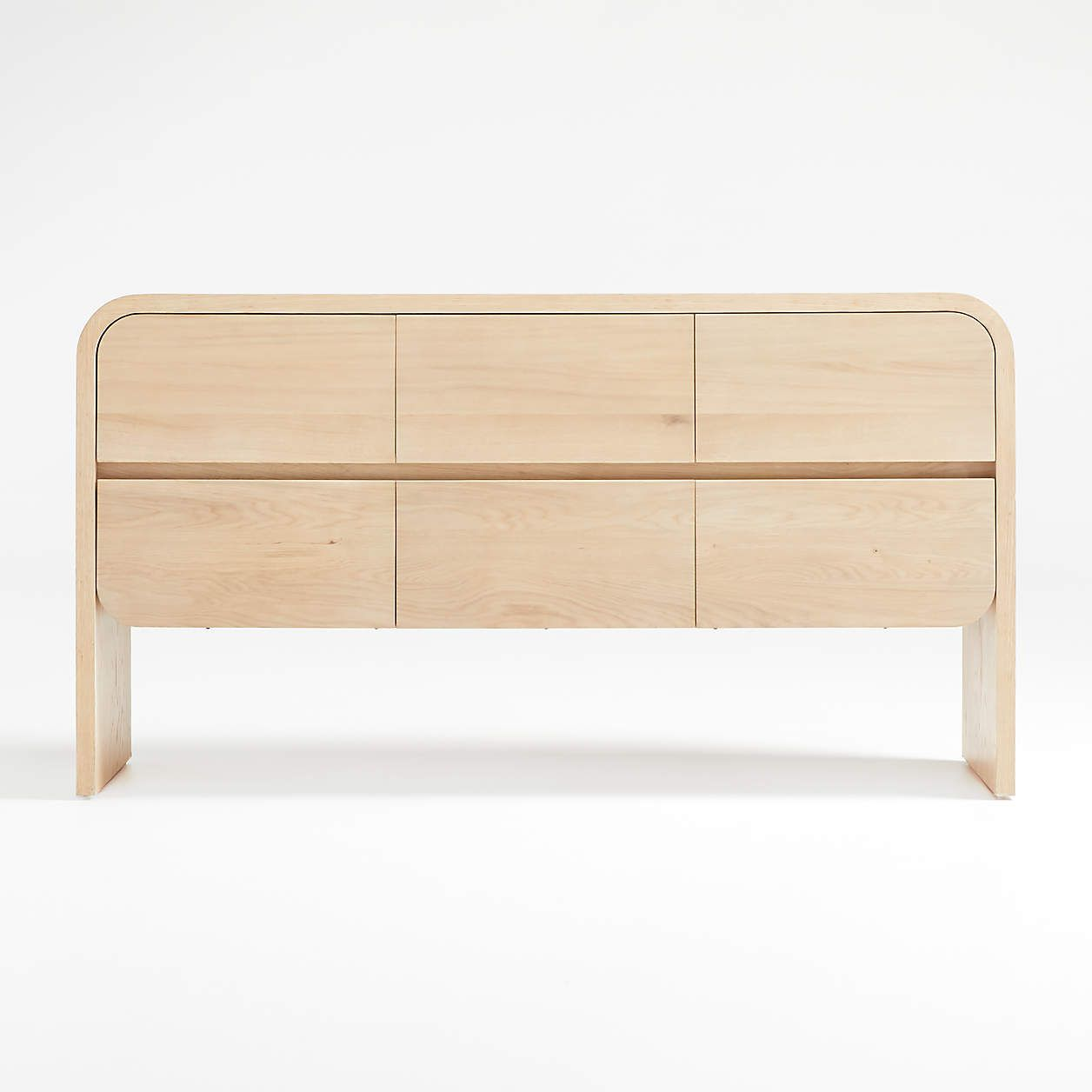 A wooden dresser you can buy at Crate & Barrel