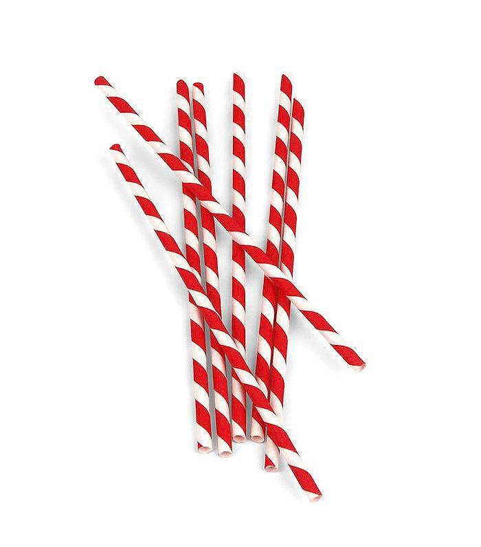 Kikkerland Biodegradable Paper Straws