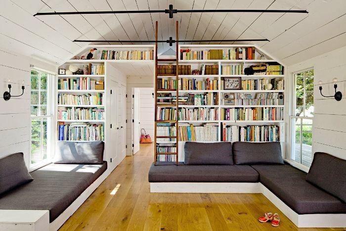 Sala de estar de la biblioteca