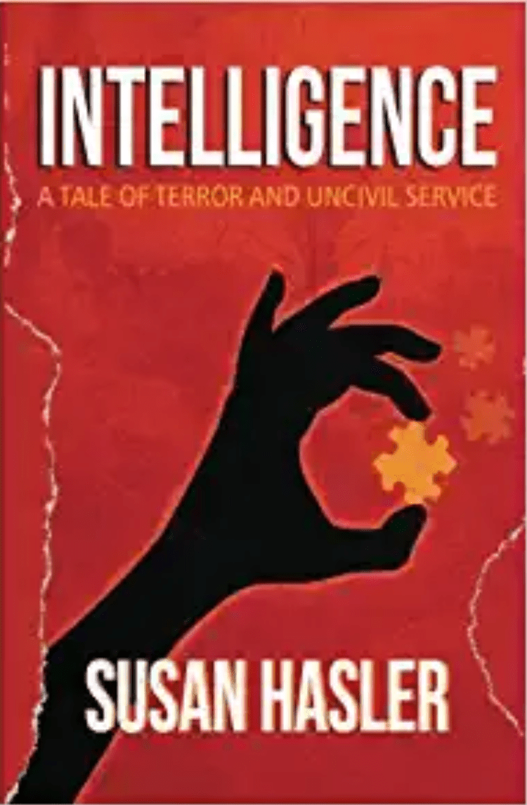 Intelligence by Susan Hasler book cover