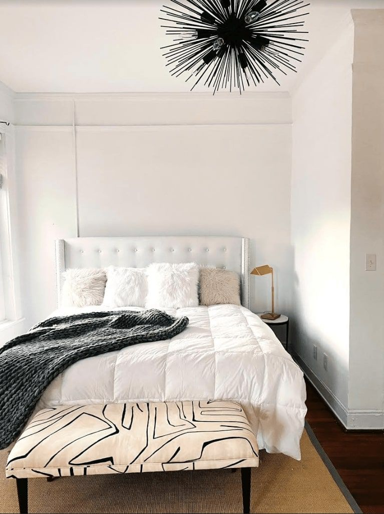 tips for fall decorating: chunky throw blankets