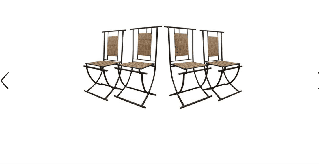 Midcentury Folding Chairs
