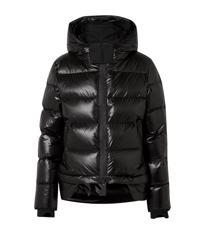 Nano Hooded Quilted Shell Down Coat