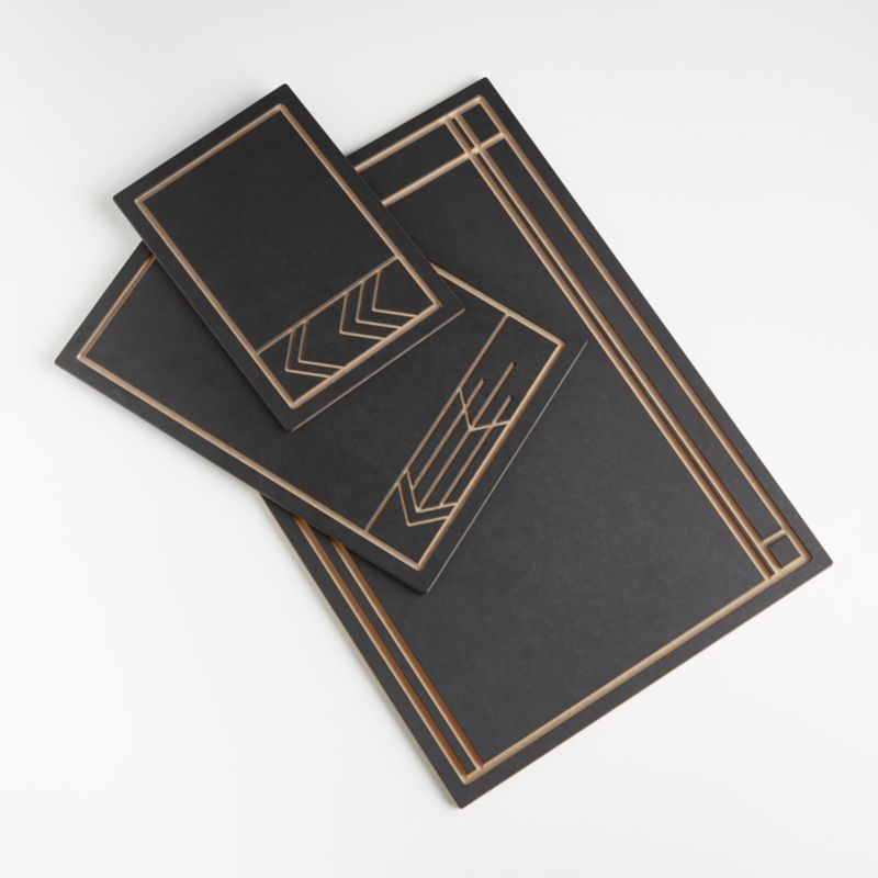 Epicurean x Frank Lloyd Wright Cut and Serve Boards