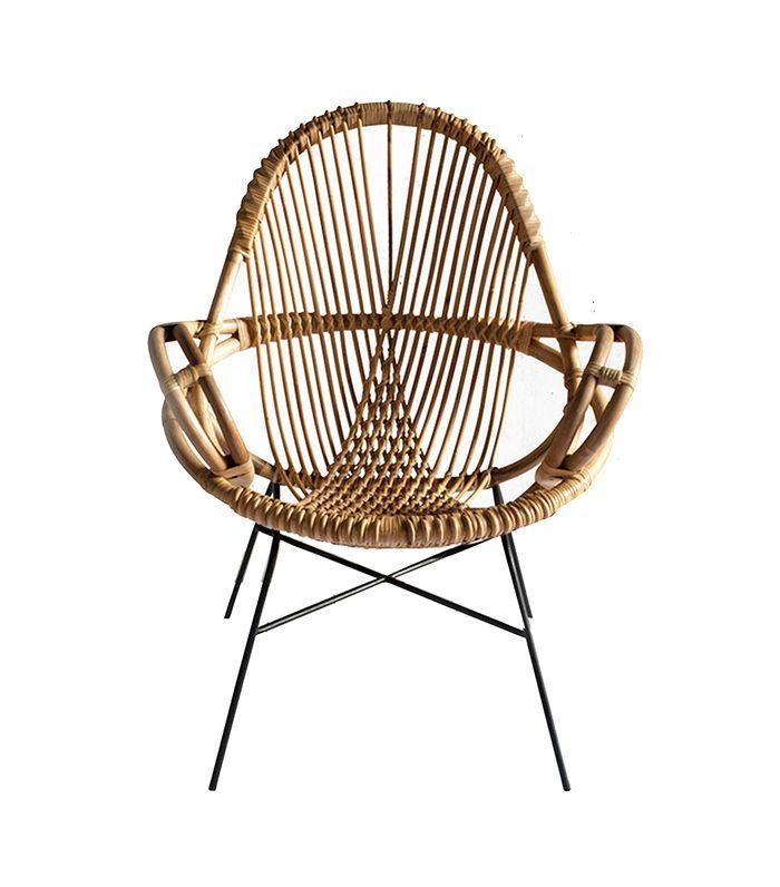 Dear Keaton Diamond Rattan Chair