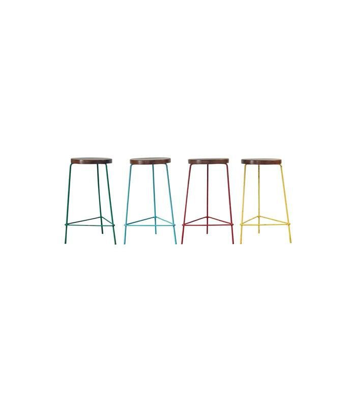 Pierre Jeanneret Stool, Set of 4