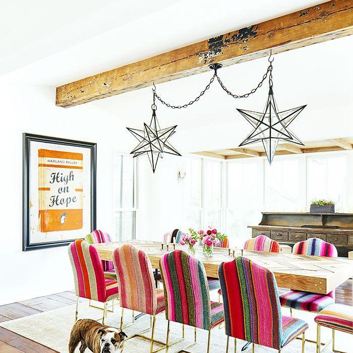 Brooklyn Decker's dining room
