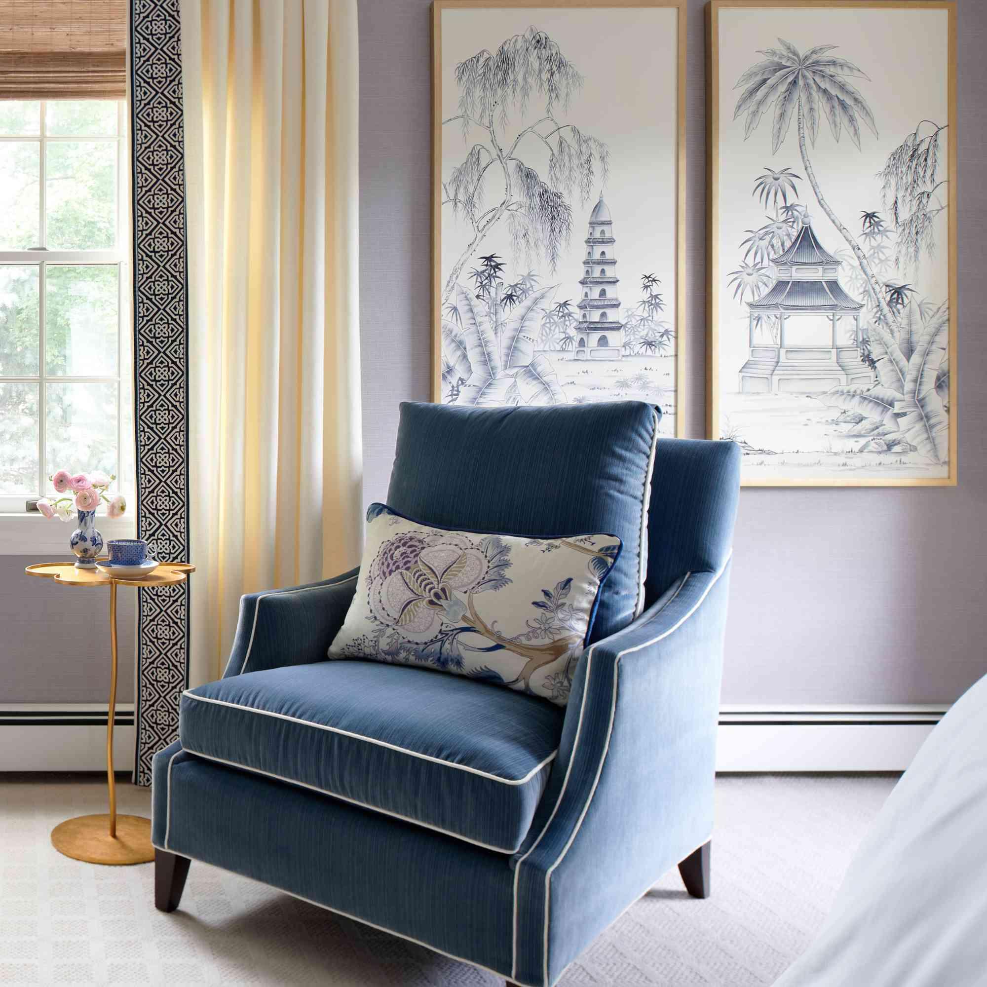 makeover of the week - K+K Interior Design bedroom makeover